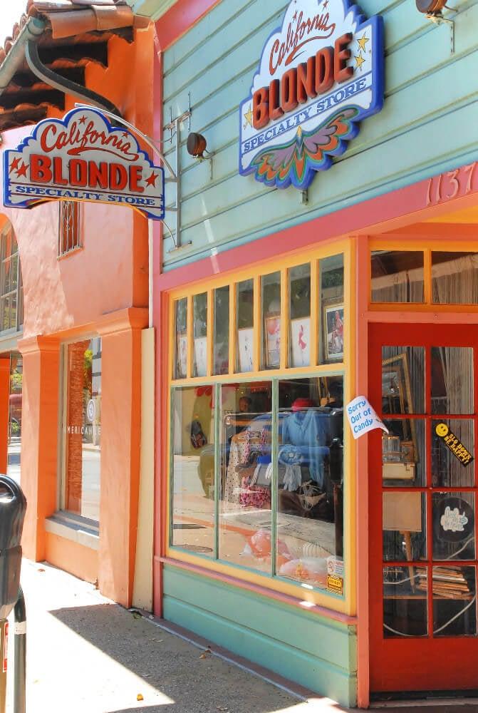 Shop in downtown San Luis Obispo on California's Central Coast.