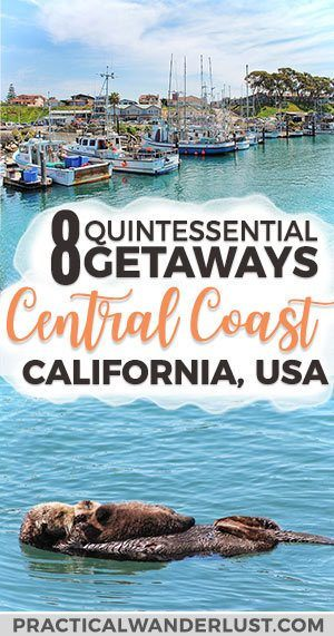 The Central Coast in California, USA is full of incredible weekend getaways. From charming coastal towns to wineries to beaches to hot springs to hiking to wildlife, California's Central Coast has it all! This local's travel guide has all the best Central Coast California things to do. Pismo Beach | Avila Beach | San Luis Obispo | Morro Bay | Cayucos | Atascadero | Paso Robles | Los Osos | San Simeon | Cambria | United States Travel #California #Travel