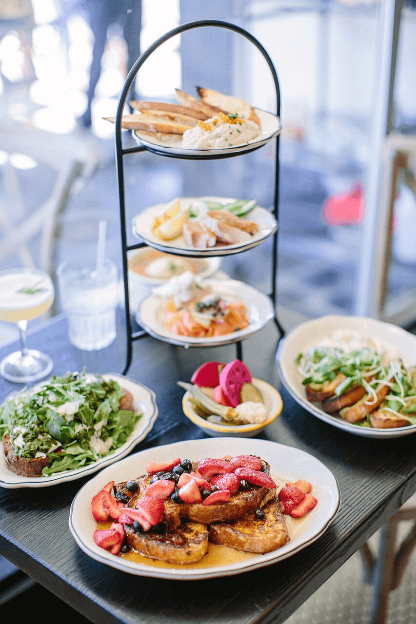 Grand Lake Kitchen serves up some of the best brunch food in Oakland with remixes on the classics, such as a savory french toast and a Reuben eggs benedict.