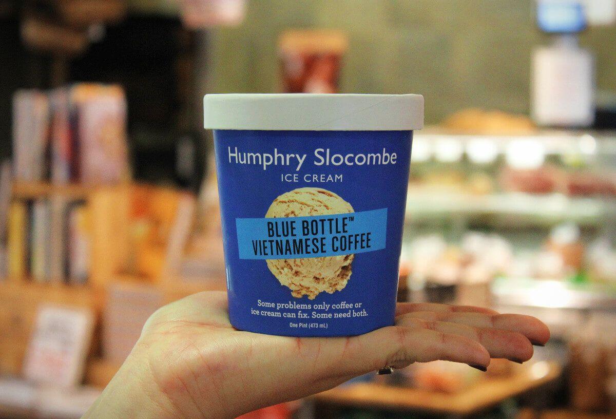 Humphrey Slocombe Ice Cream at Market Hall in Rockridge, Oakland California