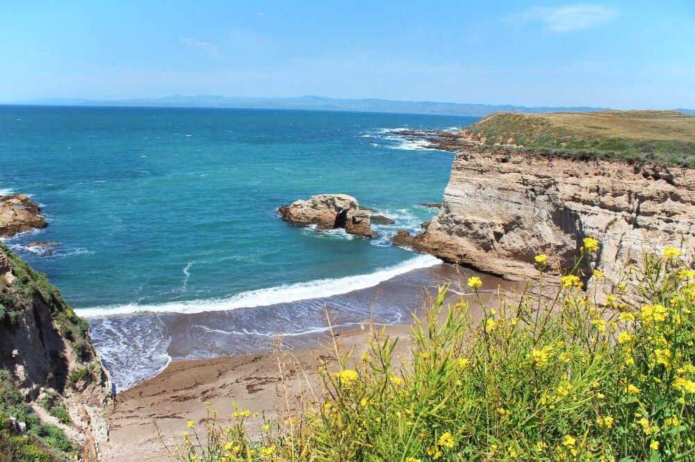 Montana de Oro state park in Los Osos, California on the Central Coast