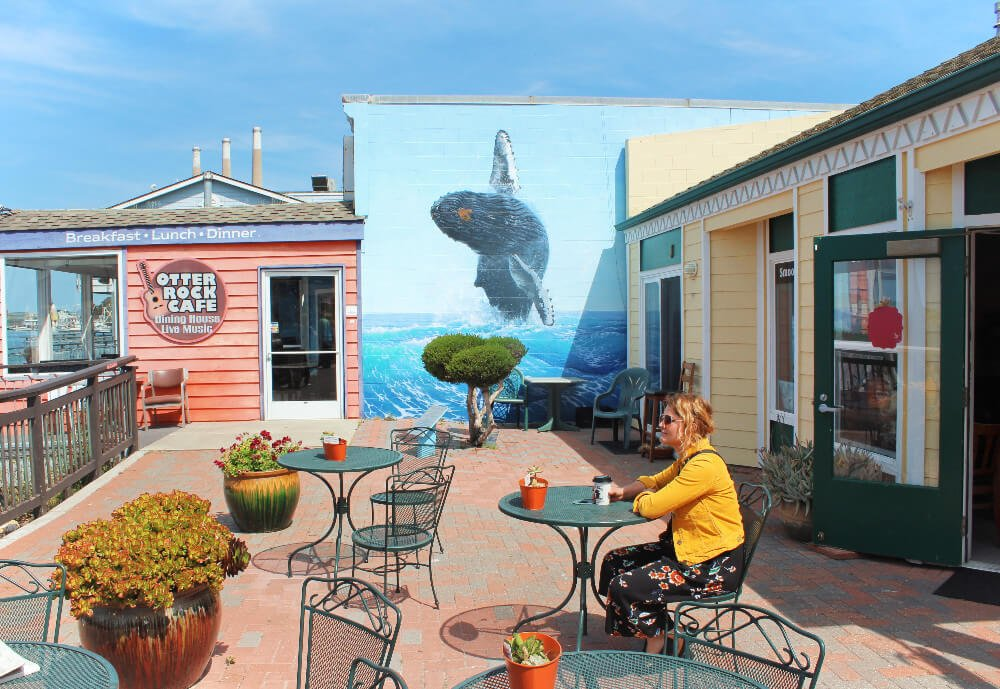 Street art in Morro Bay, California.