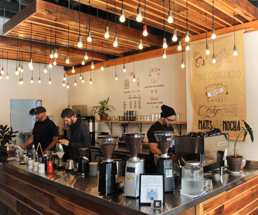 Spearhead Coffee is a third wave specialty coffee shop in Paso Robles, California