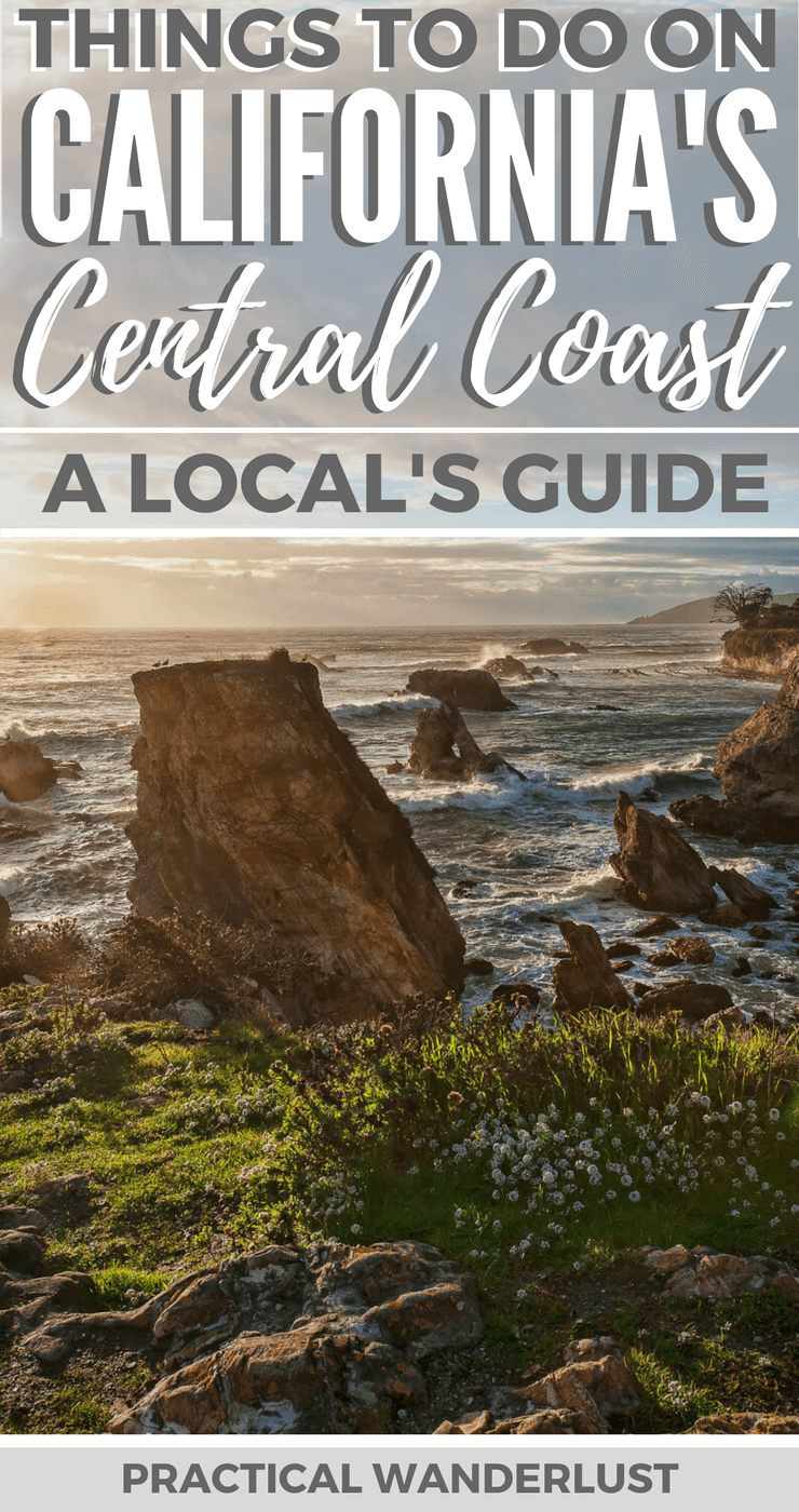 The Central Coast in California, USA is full of incredible places to explore. From charming Central Coast towns to wineries to beaches to hot springs to hiking to wildlife and more, California's Central Coast has it all! This local's guide has all the insider tips for an amazing trip to the Central Coast in California, including what to do and where to eat & drink! | Pismo Beach | Shell Beach | Avila Beach | San Luis Obispo |Morro Bay | Cayucos | Atascadero | Paso Robles | Los Osos | San Simeon