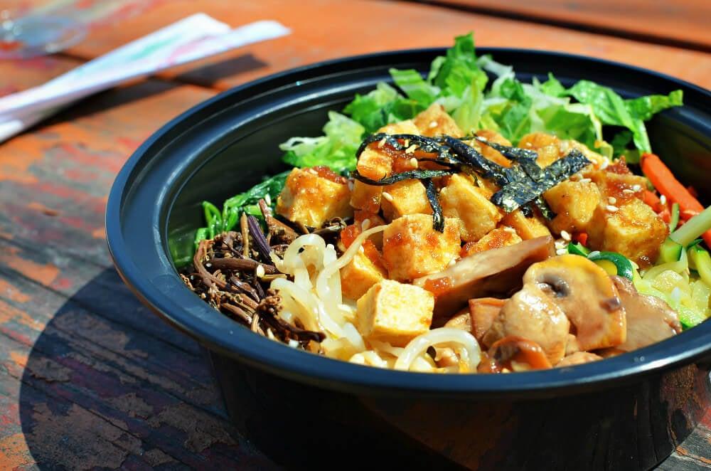 Vegan bowl in Oakland, California