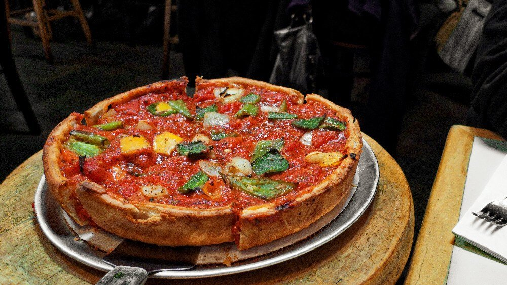 Zachary's is Oakland's own deep dish pizza place (Chicago style). This is the kind of pizza you have to eat with a fork! Zachary's is one of the best restaurants in Oakland.