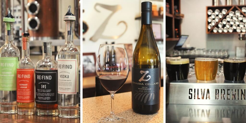 The Boozy Guide to Paso Robles, California - more than just wineries! Distilleries, breweries, and wineries in Paso Roblses, CA, USA.