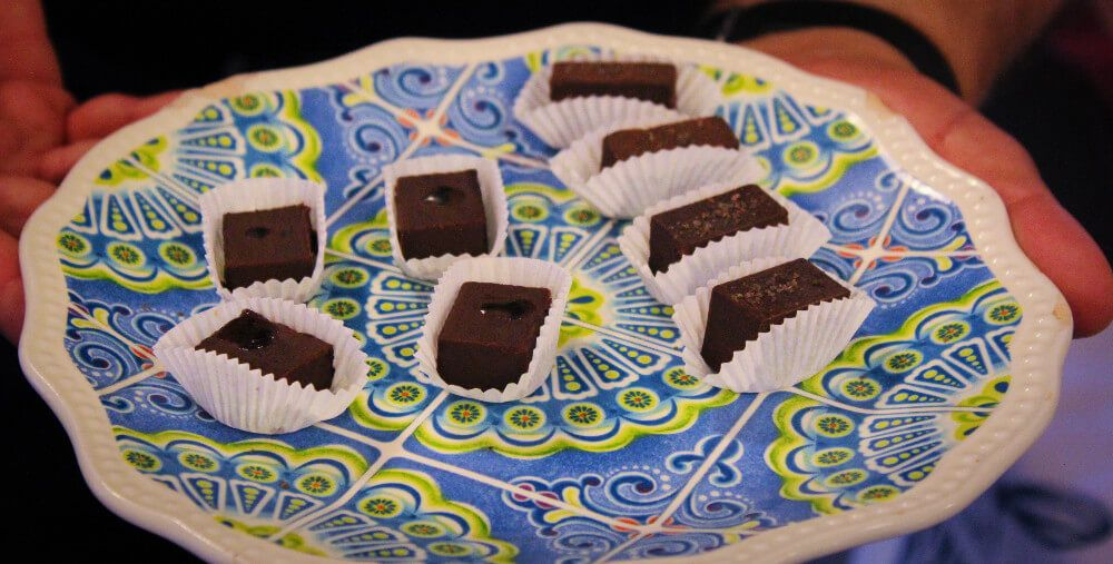Delicious chocolates on the Ultra Chocolate Tour in San Francisco, California, our favorite food tour in San Francisco!