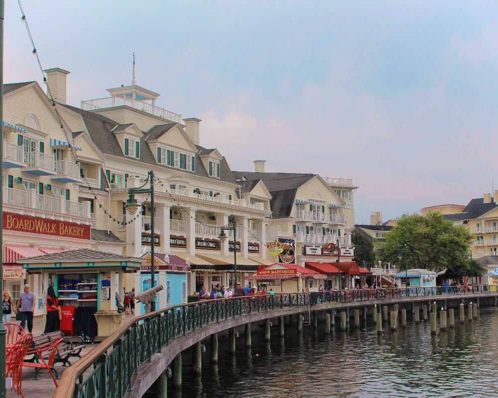 Disney's Boardwalk is home to a ton of amazing things to do outside of the Disney World parks, including a few of our favorite Disney for adults activities (ahem: bars).