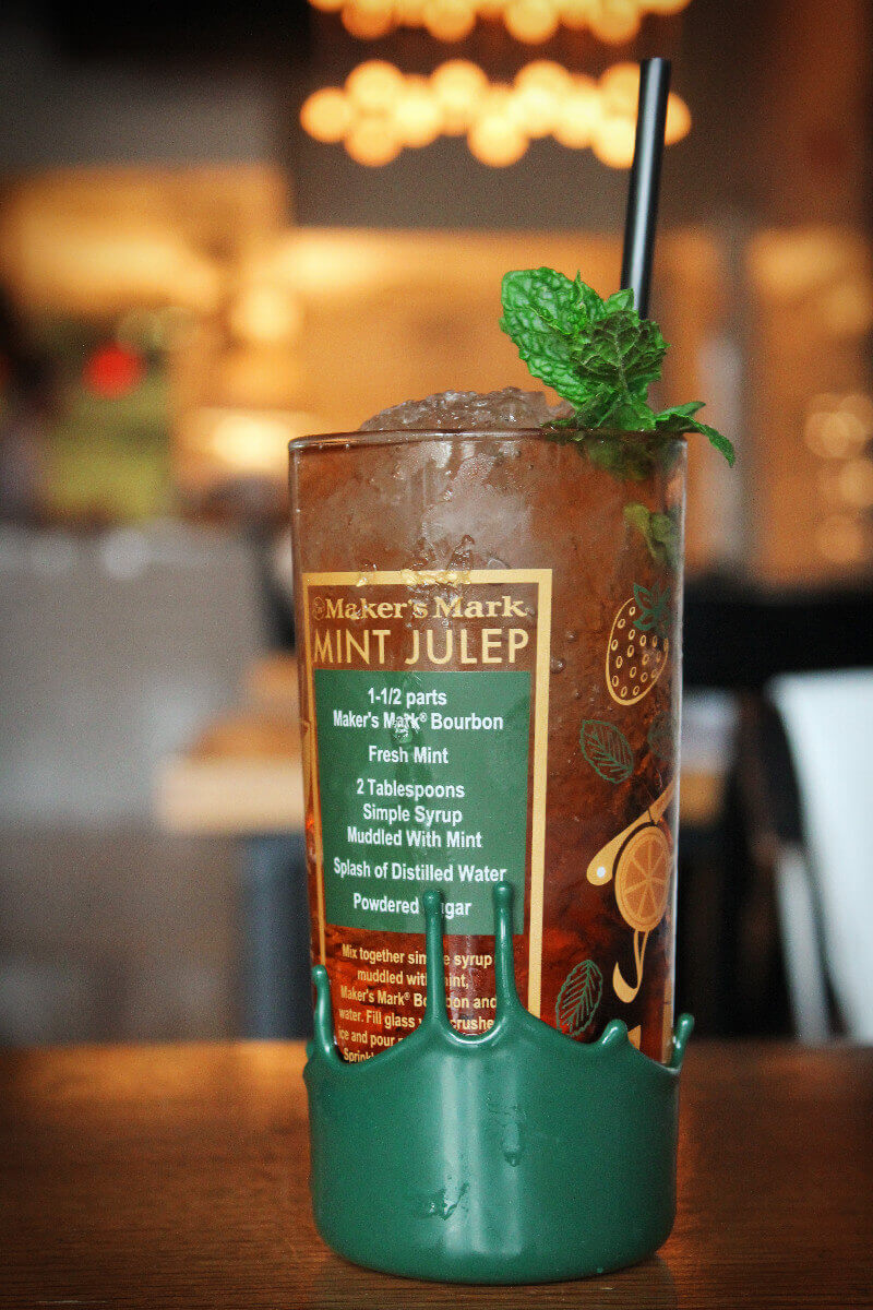 Mint Julep in at Rye in Louisville, Kentucky