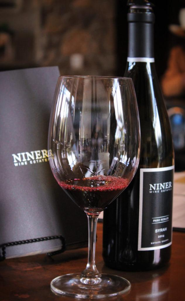 Wine tasting at Niner Wine Estates, one of the best environmentally friendly and sustainable wineries in Paso Robles, California!