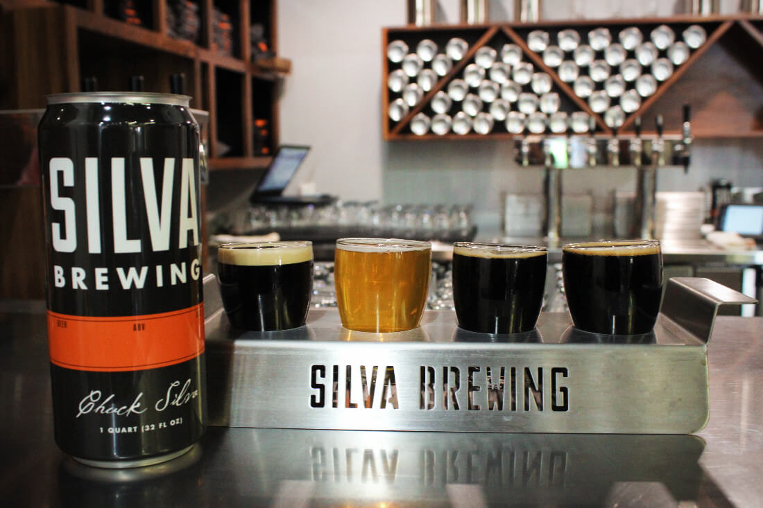 Silva Brewing is a tiny craft brewery that's only a few months old but already has a ton of delicious, unique beer created by their master brewer! It's one of the best breweries in Paso Robles, California.