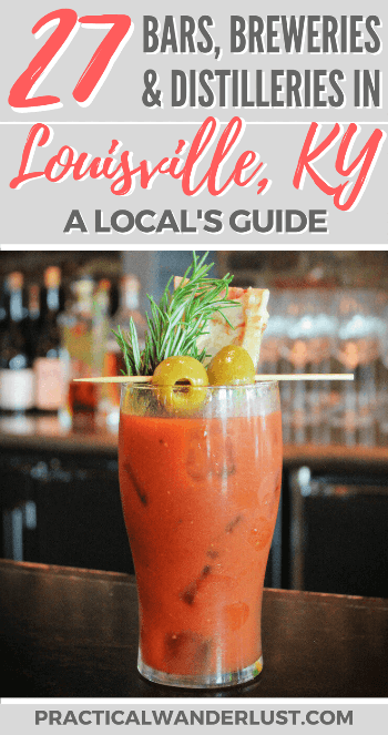 Louisville, Kentucky, USA: Home of bourbon whiskey... and a lot more! A local's guide to the 27 best breweries, bars, and distilleries in Louisville, KY. The perfect Midwest or South travel destination for booze tourism!
