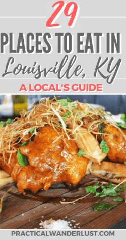 Best Local Restaurants In Louisville Ky For Lunch