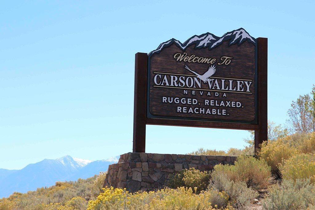 Carson Valley nv travel