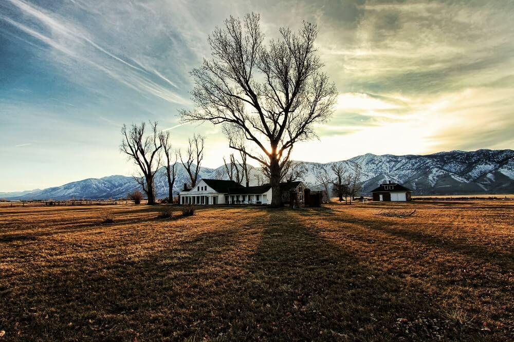 Dangberg Home Ranch Historic Park in Minden near Carson City in Carson Valley Nevada