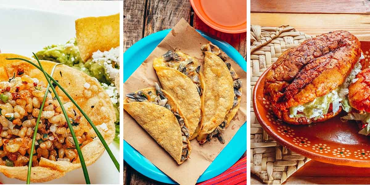 Mexican food conjures up images of burritos and tacos and quesadillas, guacamole and salsa, and if you're into Tex-Mex, queso. But as it turns out, almost everything I thought I knew about Mexican food is wrong. Tacos, tamales and tortas may rule the international perception of Mexican cuisine, but there are so many more weird, wonderful, and authentic Mexican dishes that most people haven't heard of, like poisoned tacos or sweetcorn cake. From tripe soup to fermented agave sap to ant larvae, here's 15 obscure Mexico foods that you've probably never heard of!