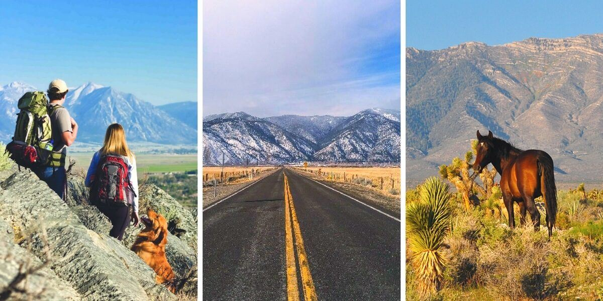 14 unreal outdoor adventures in Carson Valley, Nevada, a USA outdoor adventure town destination in the Eastern Sierra next to Lake Tahoe.