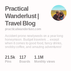 Exposure at work: see that 1.1? That's 1.1 MILLION, the number of monthly views our profile & our content is currently getting monthly on Pinterest. Having a lot of exposure is super helpful for getting your content seen and, ultimately, clicked on.