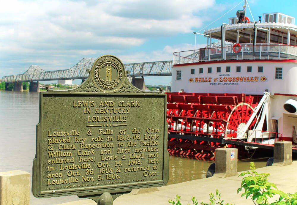 Louisville, Kentucky has a fascinating history. And some of it can still be seen today: the historic Belle of Louisville steamboat is still operating over 100 years after her maiden voyage!