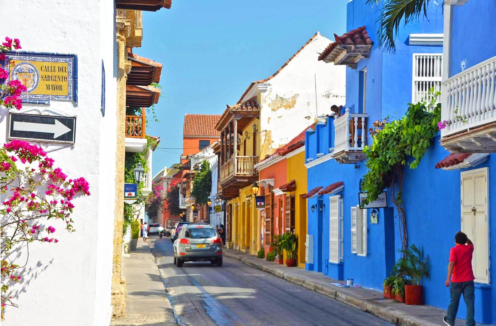 Cartagena de las Indias is an old colonial town in Colombia. Despite its dark history, today it's a thriving, colorful city to visit! We recommend visiting Cartagena as the very last stop on our backpacking Colombia itinerary.