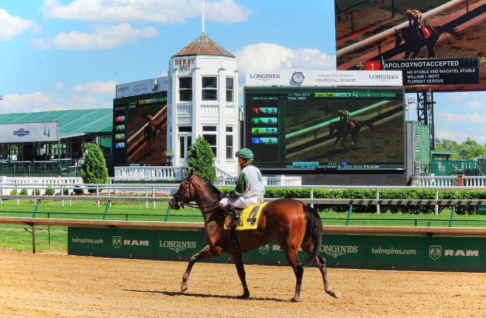 Watching horses thunder down the track at Churchill Downs is one of the  most thrilling things