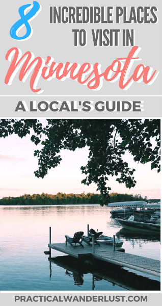 Minnesota is a USA travel destination that's packed with amazing places to visit, things to do, and delicious food to eat! Here's the 8 best places to visit in Minnesota according to a local. Don't skip visiting Minnesota on your next United States vacation!