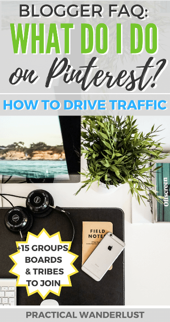 It's a question my clients ask me all the time: but what do I DO on Pinterest? How to I drive traffic to my blog? Here are my tips for driving traffic from Pinterest to your blog. Pinterest tips for Travel Bloggers PLUS a free downloadable worksheet with 15 Tailwind Tribes, Group Boards and FB Groups for Travel Bloggers to join.