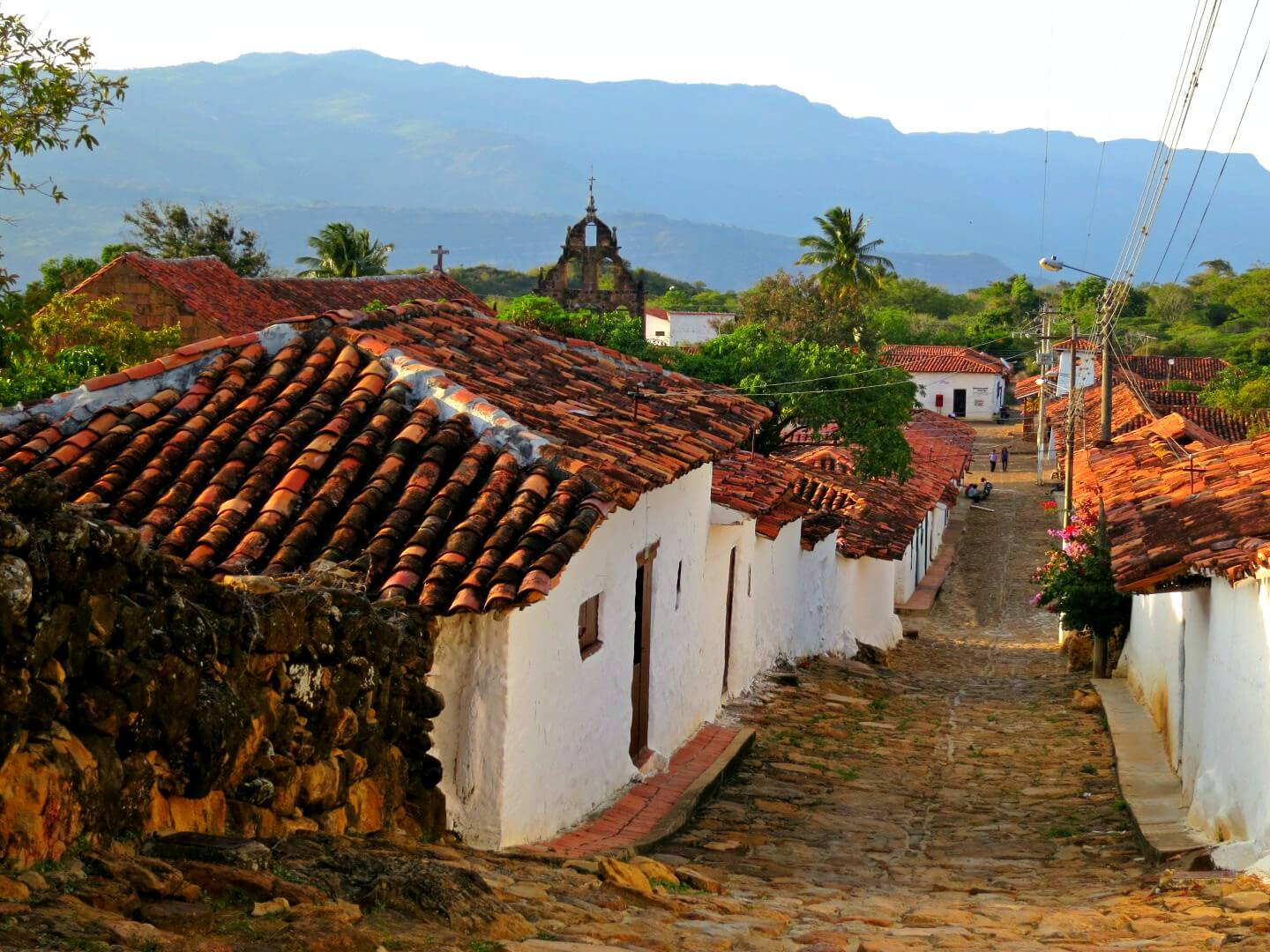 Stunning Guane is next to Barichara, the so-called most beautiful town in Colombia. They're both a great day trip from San Gil, Colombia! Read more on our ultimate itinerary for backpacking in Colombia.