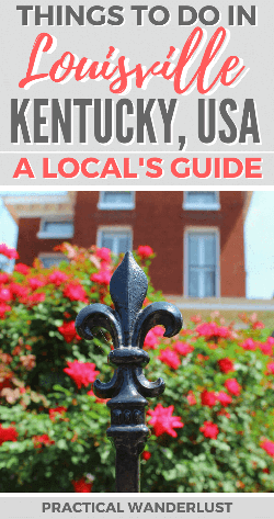 Louisville, Kentucky is an amazing destination in the Midwest USA to  explore!