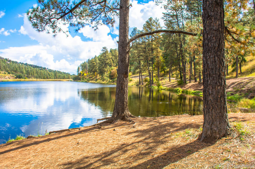 Beautiful Alto Lake is an awesome place to hike, bike, or get in touch with your inner woodsman and one of the most adventurous things to do in Ruidoso, New Mexico!