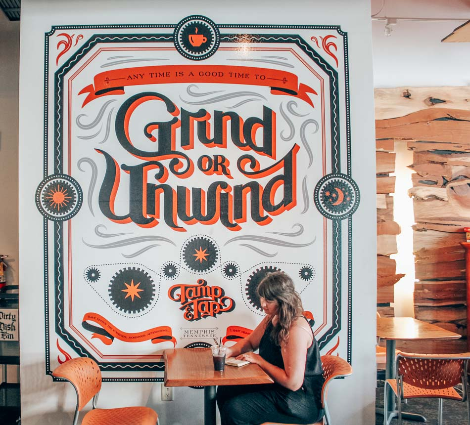 Tamp & Tap Coffee shop in Memphis, Tennessee