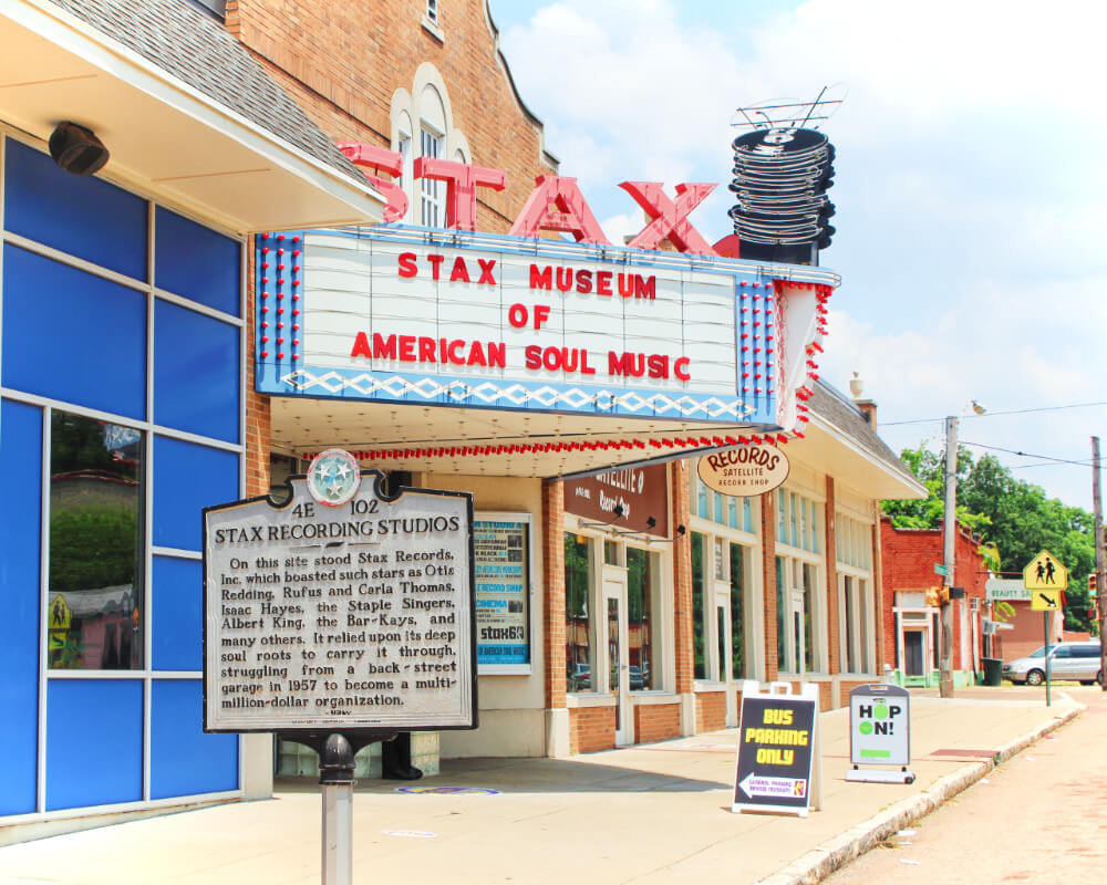 Visit the Stax Museum when you're traveling to Memphis, Tennessee.