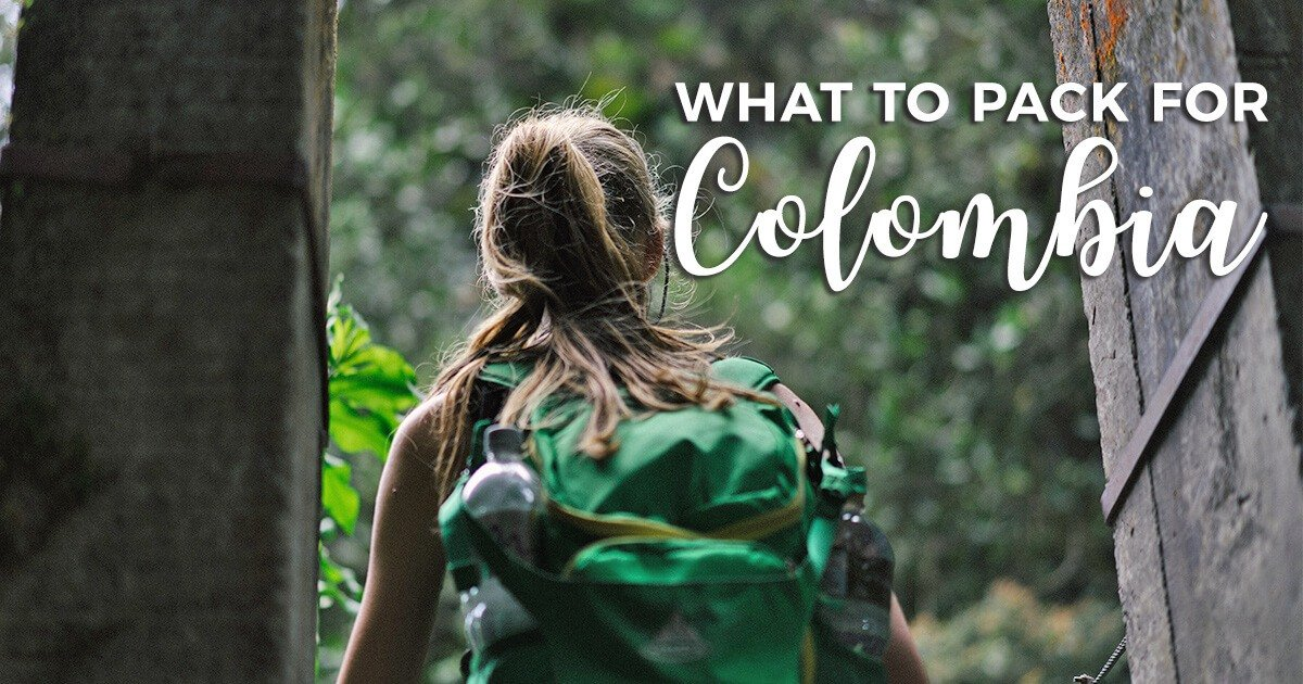 What to pack for Colombia: the ultimate packing list for this South America travel destination. Everything you need to backpack in Colombia!
