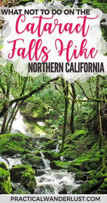 The gorgeous Cataract Falls hike in Marin, California is one of the best hikes near San Francisco. Unless you're disaster prone. Which we are. Here's what not to do! #Hiking #California #Travel