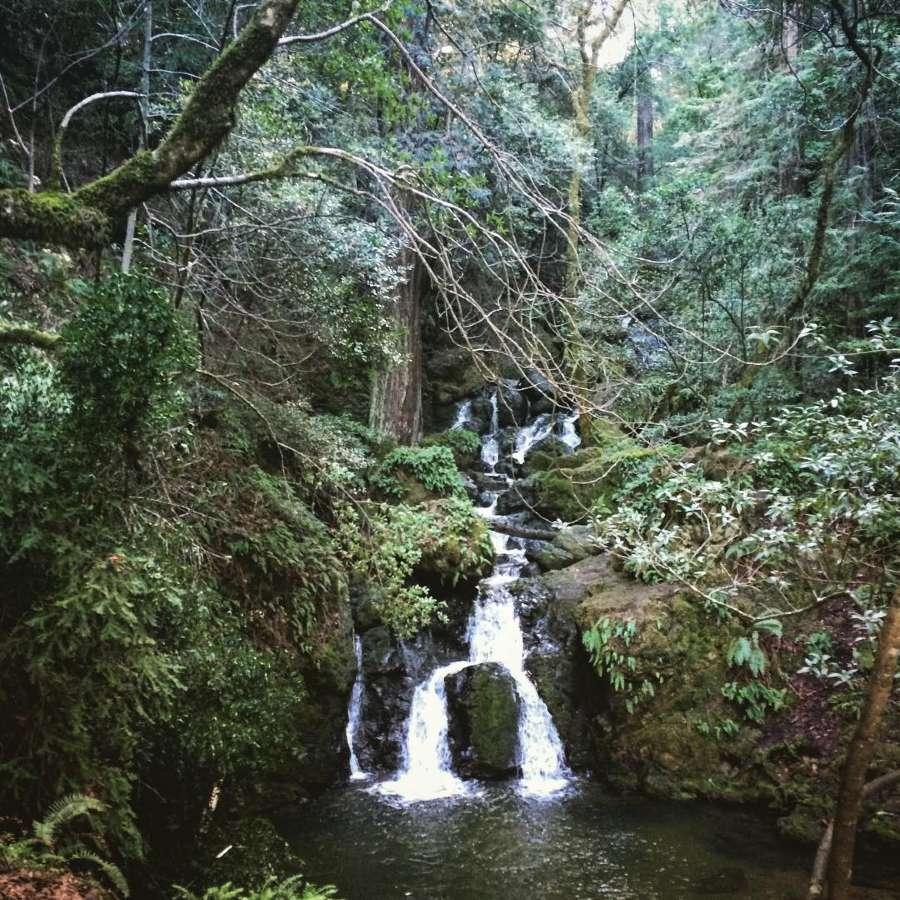 Cataract Falls Trail in California