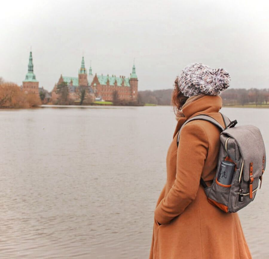 Visiting Frederiksborg Castle is one of the best day trips from Copenhagen in the winter!