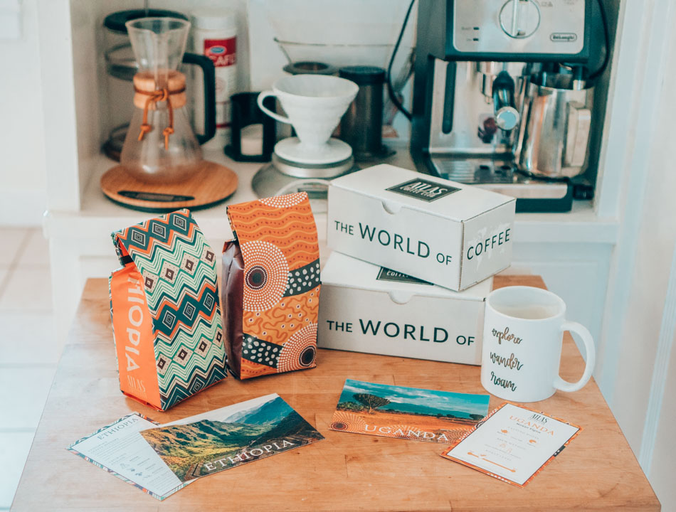 Atlas Coffee Club is one of the best gifts for coffee lovers who also love travel. Ah, my two passions combined in one perfect gift!