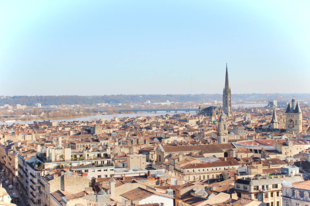 Beautiful Bordeaux, France in the winter on our France Road Trip!