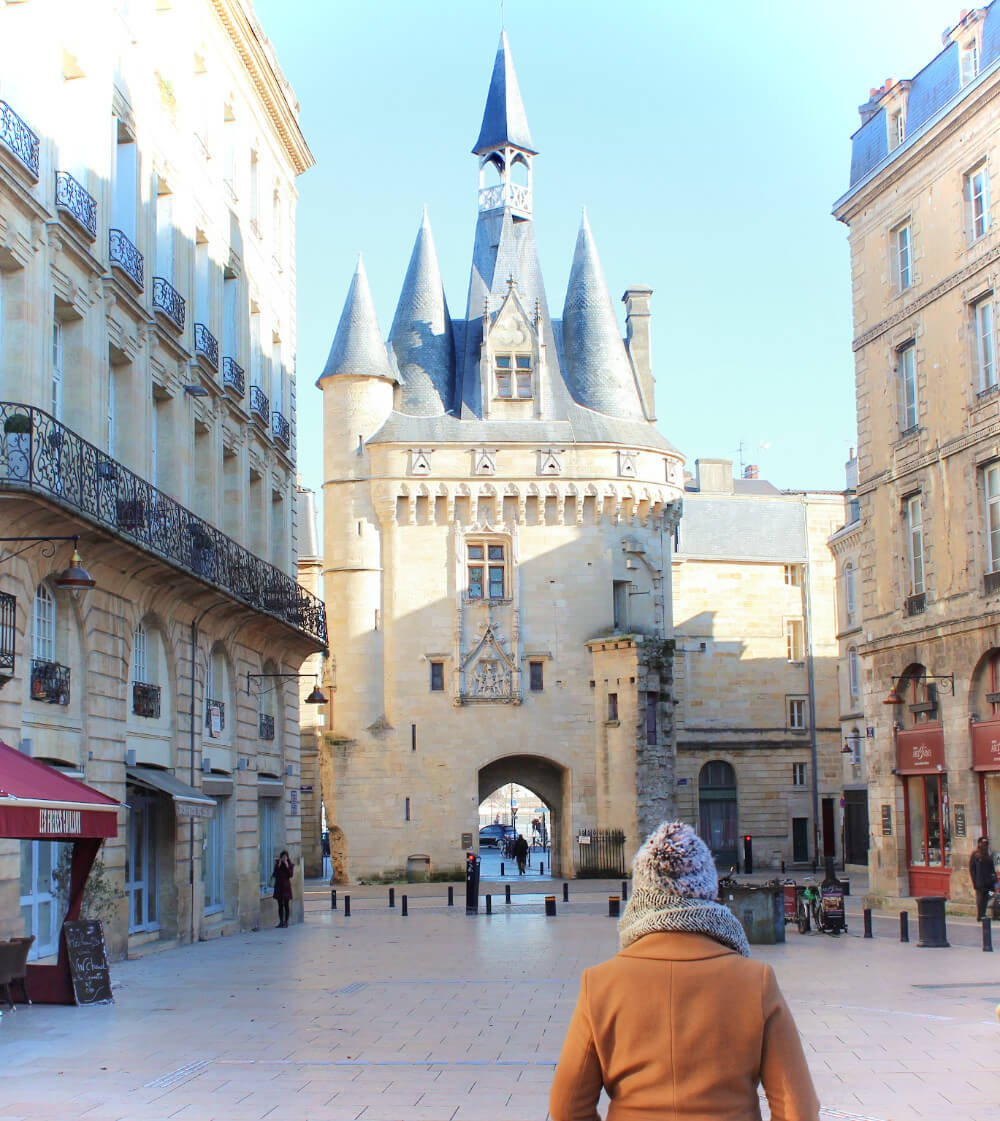 Exploring Bordeaux, France in the winter