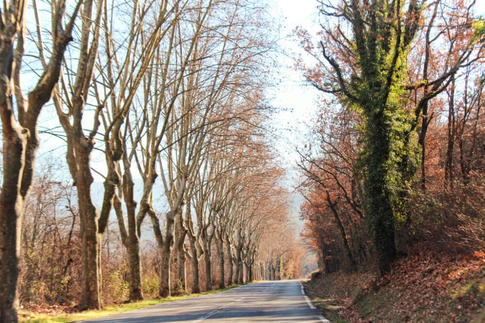 Driving through France in the winter on our off-season French road trip!