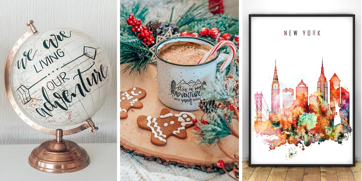 50 perfect travel gifts for everyone on your list (or like, just you. No judgement here.) The only gift guide for travel lovers you need this holiday season! #TravelGifts #giftguide