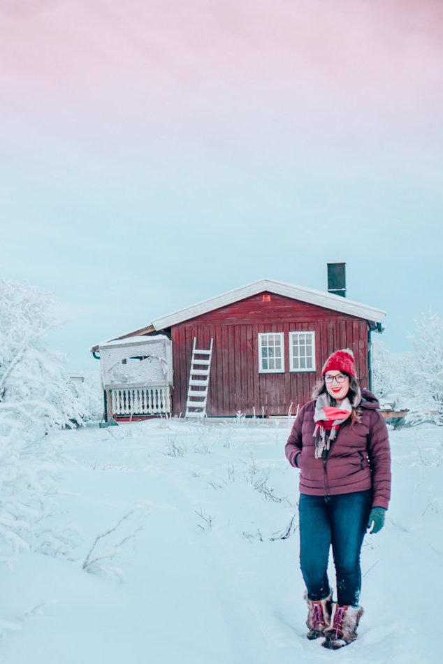 I took my Aviator Jeans with me on a trip to the Arctic Tundra in Norway. Its -30 degrees and my hair is frozen, but with 2 layers of wool underneath my jeans, I stayed warm and dry!