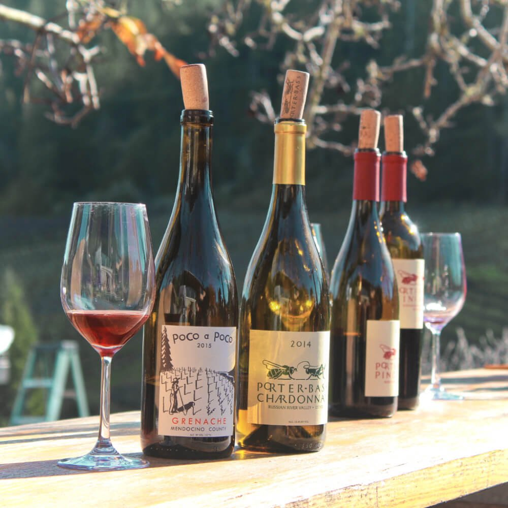 Porter Bass Winery in Guerneville, California