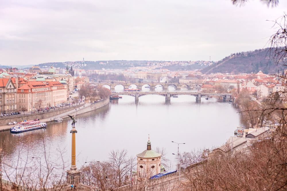 Charles Bridge, Prague in December