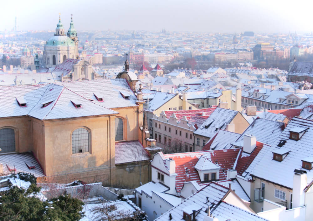 Just like, stick yourself in front of this and take a selfie. You can't go wrong. Prague in the winter is the ultimate photo backdrop!