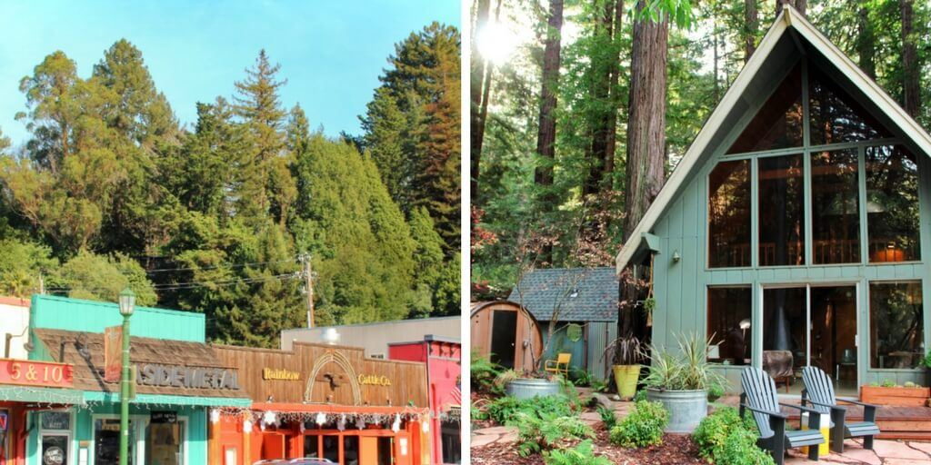 A romantic weekend itinerary for a glamping trip in Guerneville, Northern California. Wine tasting, redwoods, road trippin' down Highway One on the West Coast, and more!