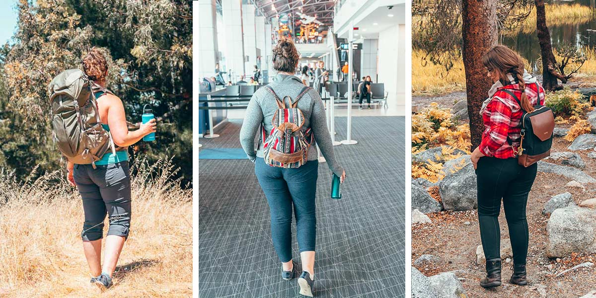 Travel jeans. Hiking pants. Winter pants. The best pants to wear on an airplane. Travel leggings. The 5 best travel pants for women - tried and tested!