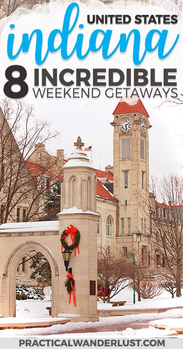 8 of the best weekend getaways in Indiana, from an Indiana University graduate (GO HOOSIERS)! Indiana is full of surprising weekend trips. Indianapolis Indiana   Indiana Travel   Indiana Things to Do In   Indiana Places to Visit   Indiana Weekend Trips   Madison Indiana   Bloomington Indiana   Midwest Vacations   United States Travel   Midwest Travel