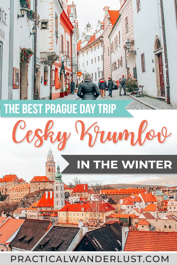 Český Krumlov, Czech Republic is a medieval town & UNESCO World Heritage site located in the Bohemia region of the Czech Republic and one of the best day trips from Prague. From fairytale castles to Christmas Markets, here's 14 reasons why it's well worth it to take a trip to Český Krumlov from Prague this winter. #Europe #Travel #EuropeinWinter